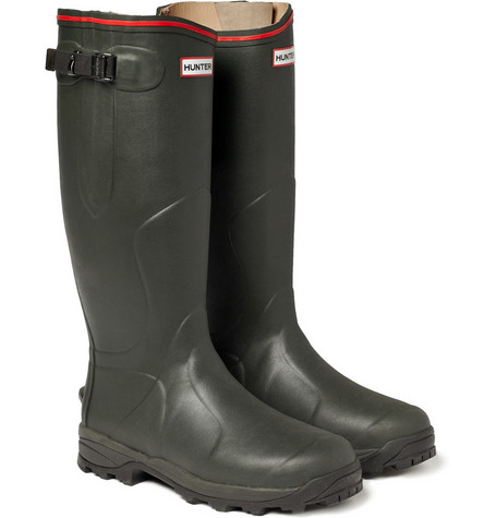 Hunter Balmoral Royal Leather-Lined Wellington Boots