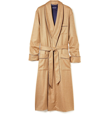 Derek Rose Cashmere Dressing Gown