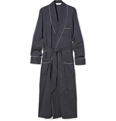 Derek Rose Lightweight Cotton Bathrobe