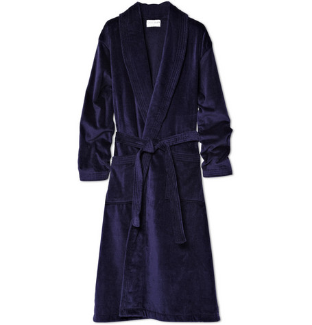 Cotton-Terry Bathrobe