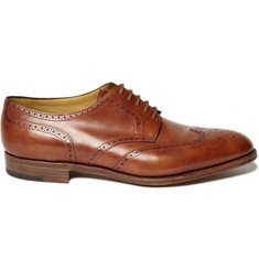 John Lobb Darby II Wing-Tip Leather Brogues