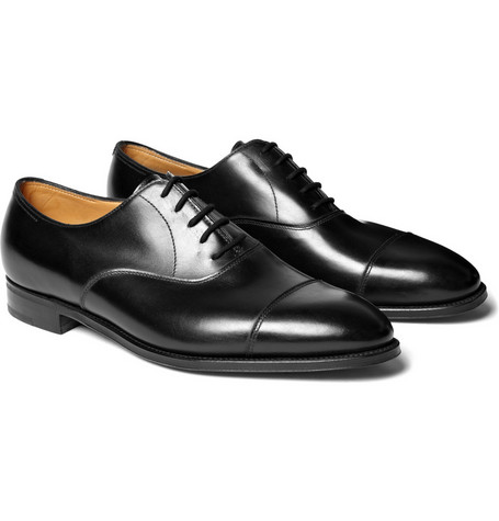 John Lobb City II Wide-Fit Leather Oxford Shoes