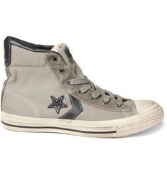 Converse Star Player Canvas Mid Top Sneaker