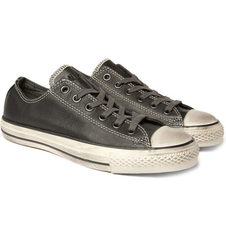 Converse Worn Effect Leather Chuck Taylor Sneakers