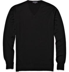 John Smedley Bobby Lightweight V-Neck Sweater