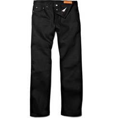 Jean Shop Rocker Straight-Leg Selvedge Jeans