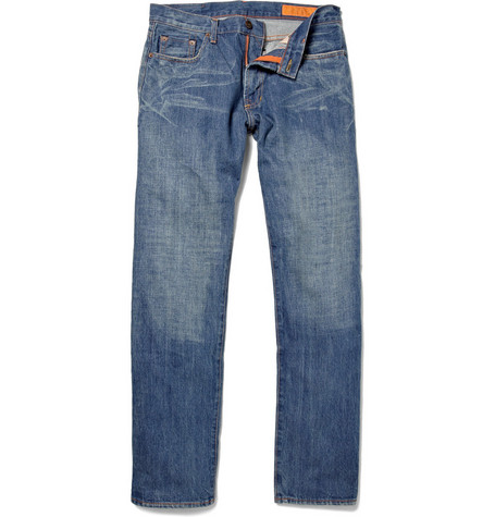 Jean Shop Rocker Straight-Leg Jeans