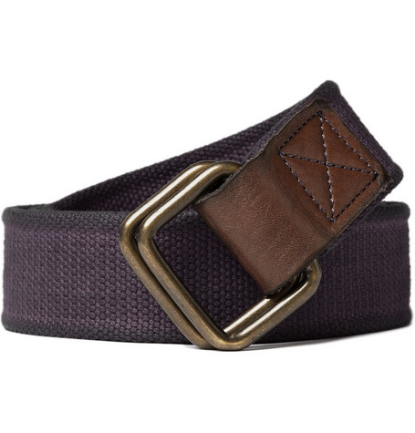 Jean Shop Cotton Metal Fastening Belt