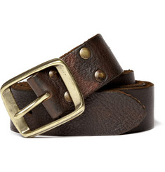 Jean Shop Brown Leather Belt