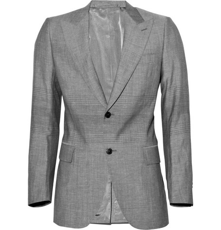 Simon Spurr Wool-Blend Suit Jacket