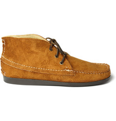 Quoddy Suede Chukka Boots