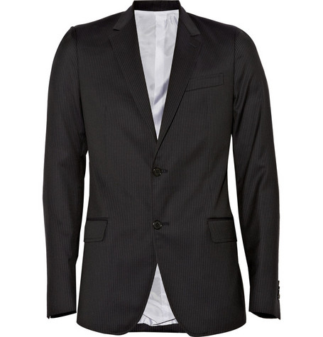 Band of Outsiders Pinstripe Suit Jacket