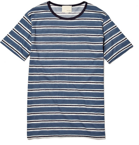 Band of Outsiders Striped Cotton T-shirt