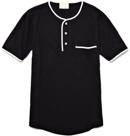 Band of Outsiders Contrast Trim T-shirt