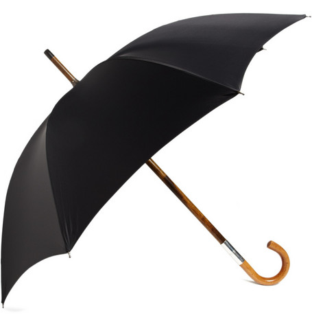 Swaine Adeney Brigg Concealed-Flask Umbrella