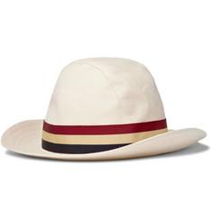 Lock & Co Hatters Cotton Monaco Hat