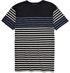 Marc by Marc Jacobs Contrasting stripe Cotton Breton T-Shirt