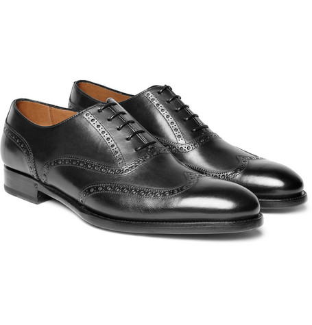 Ralph Lauren Shoes & Accessories Black Brogues