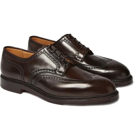 Ralph Lauren Shoes & Accessories Thick Sole Wing Tip Brogues
