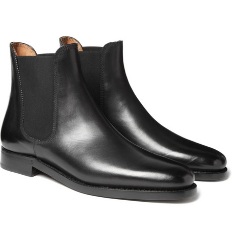 Ralph Lauren Shoes & Accessories Black Leather Chelsea Boots