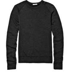 James Perse Crew Neck Cotton-Blend Sweatshirt