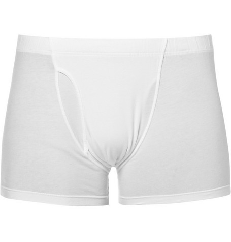 James Perse Stretch-Cotton Jersey Boxer Briefs