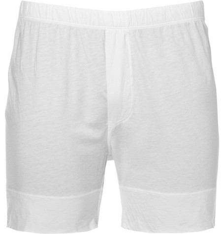 James Perse Cotton-Jersey Boxer Briefs