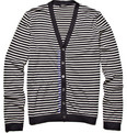 Jil Sander - V-neck Stripe Cardigan