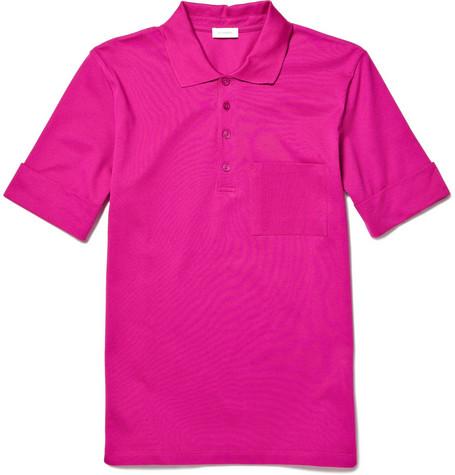 Jil SanderPique Polo Shirt