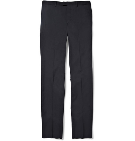 Jil Sander Slim-leg Cotton-Blend Trousers