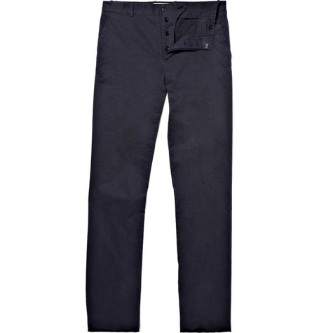 Marni Stone Washed Straight Leg Chinos