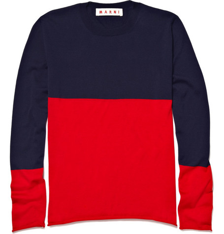 Marni Cotton Crew Neck Sweater