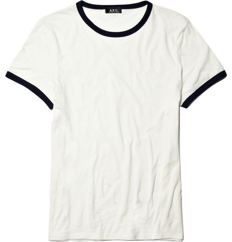 A.P.C. Cotton and Linen-Blend T-Shirt
