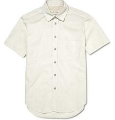 Rag & bone Short-Sleeved Cotton Blend Shirt