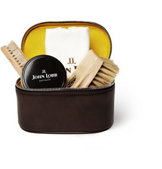 John Lobb - Shoe Care Kit With Leather Case