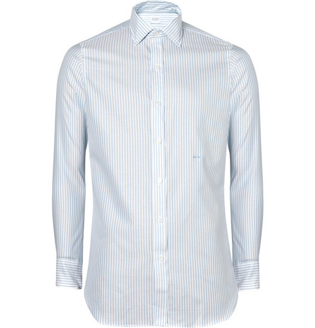 E. Tautz Bengal Striped Shirt