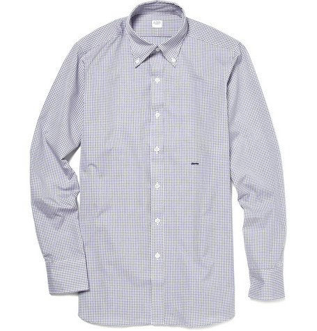 E. Tautz Button Down Check Shirt