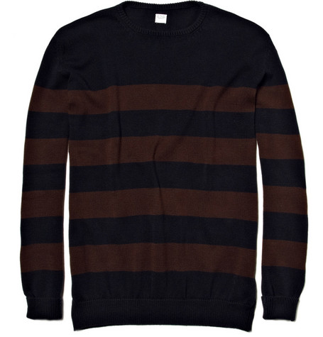 E. Tautz Striped Cotton Sweater