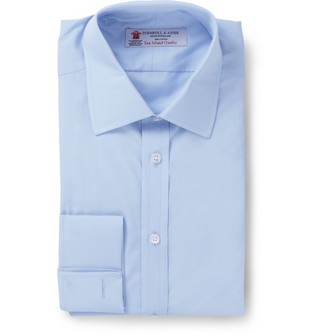 Turnbull & Asser Sea Island Double Cuff Shirt