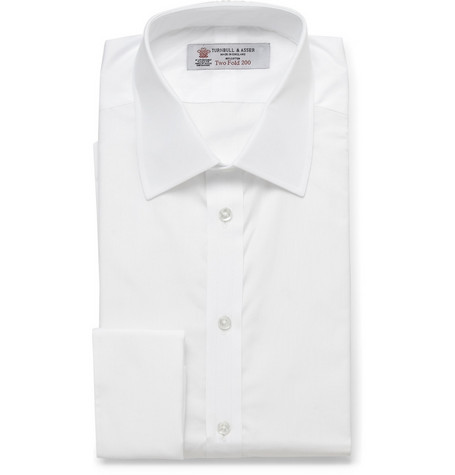 Turnbull & Asser Luxury Double Cuff Shirt
