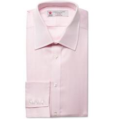 Turnbull & Asser Herringbone Cotton Shirt