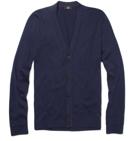 Dunhill Classic Cotton-Blend Cardigan