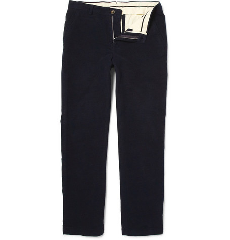 Alfred Dunhill Cotton Moleskin Trousers