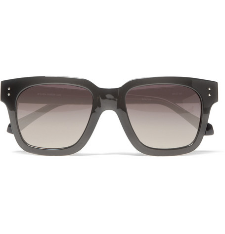 Linda Farrow Square Framed Acetate Sunglasses