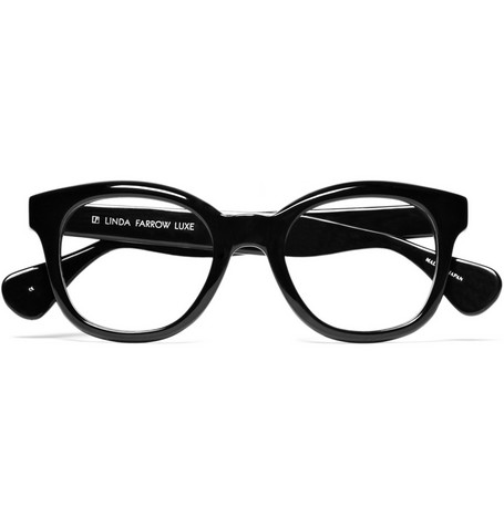 Linda Farrow Round-Frame Optical Glasses