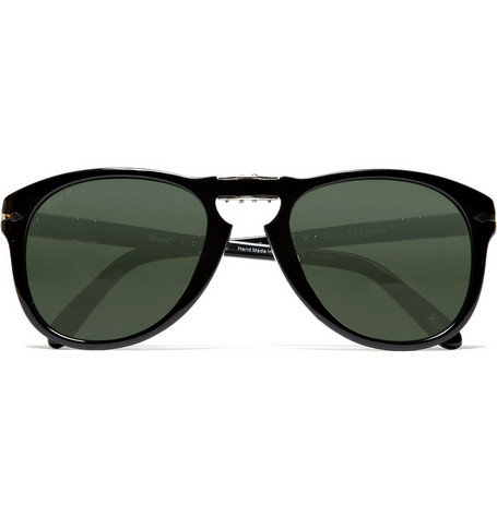 Persol Polarised Folding Steve McQueen Sunglasses