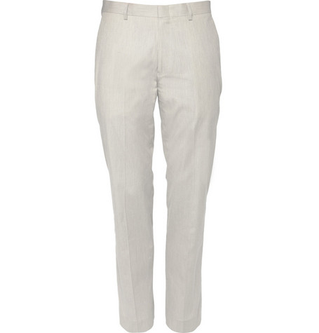 J.Crew Ludlow Striped Cotton Suit Trousers