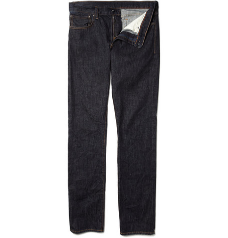 J.Crew 484 Rinsed Slim-Fit Denim Jeans