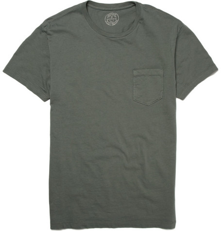 J.Crew Pocket-Front Slim-Fit Cotton T-Shirt