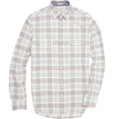 J.Crew Morton Madras Cotton Shirt